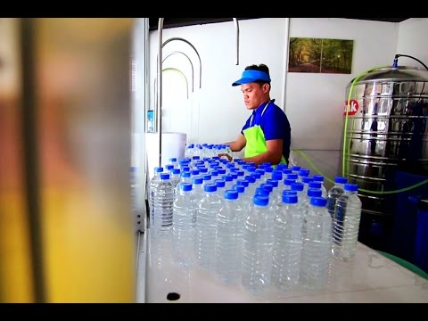 How to start your own water refilling business