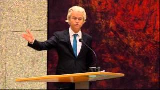 Inbreng Geert Wilders bij debat over aanslagen in Parijs (19-11-2015)