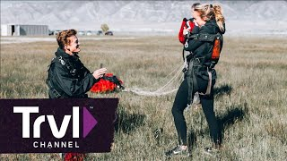 A Post-Skydiving Marriage Proposal - Travel Channel