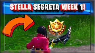 STELLA SEGRETA WEEK 1 SEASON 9 FORTNITE SECRET BATTLE STAR LOCATION WEEK 1 SEASON 9 FORTNITE