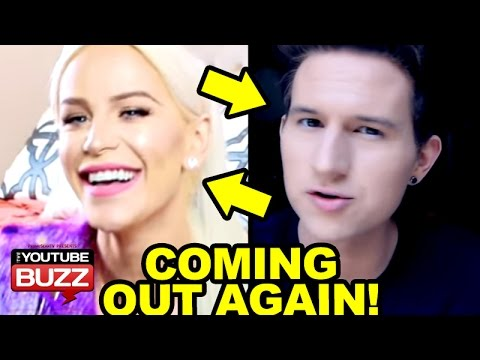 Transgender Youtuber Coming Out Again Gigi Gorgeous And Ricky Dillon