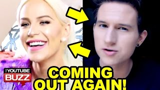 Transgender YouTuber Coming Out Again! - Gigi Gorgeous and Ricky Dillon