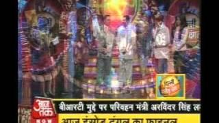 aman srivastava wins delhi hansod dangal 2008 on delhi aajtak