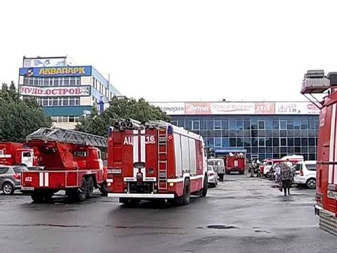 В фитнес клубе Курска произошло возгорание