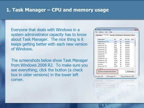 20 Windows Tools Every System Administrator Should Know