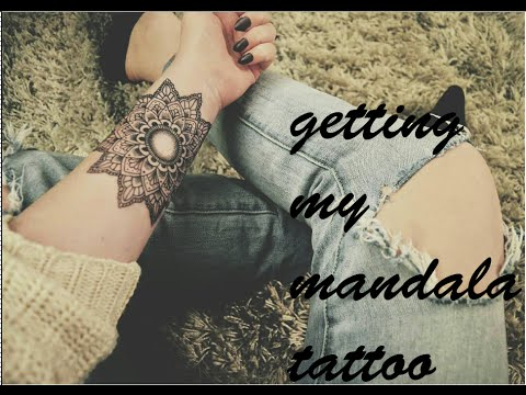 Getting My Mandala Tattoo! // Missalannanielsen
