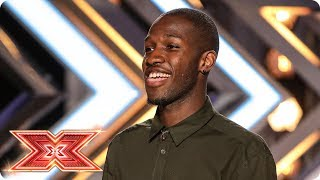 Reuel Elijah, that's how you do it! | Auditions Week 4 | The X Factor 2017