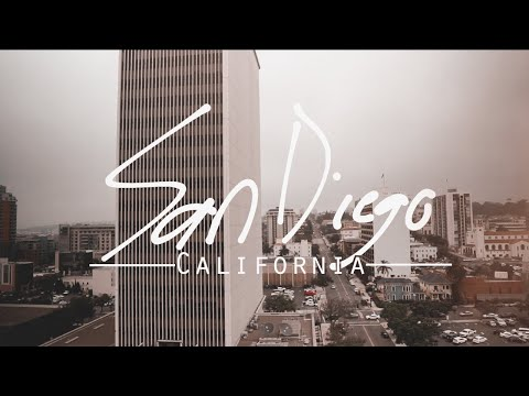 EXPLORE - San Diego (Travel Film) | Sony A6000 + Sigma 16mm f1.4
