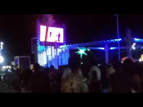 Festa com a carreta Evolution em Guajeru Bahia