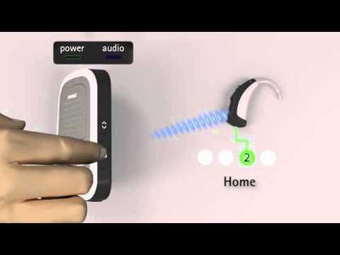 Phonak ComPilot - Setup As Remote Control
