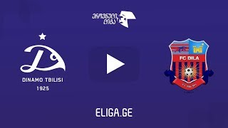 Dinamo Tbilisi vs Dila Gori full match