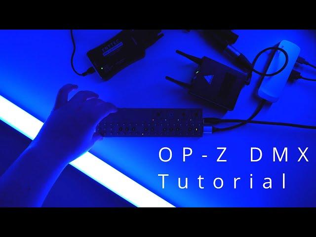 OP-Z DMX Tutorial
