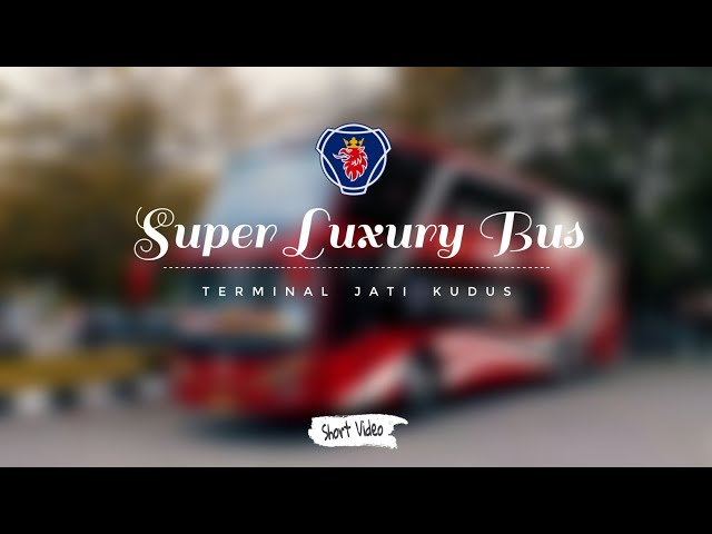 Super Luxury Bus || AGRA Mas SCANIA K-410 Double Decker (Short Video)