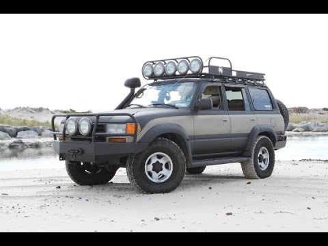 New Land Cruiser 80 Hybrid Roof Rack Build - YouTube