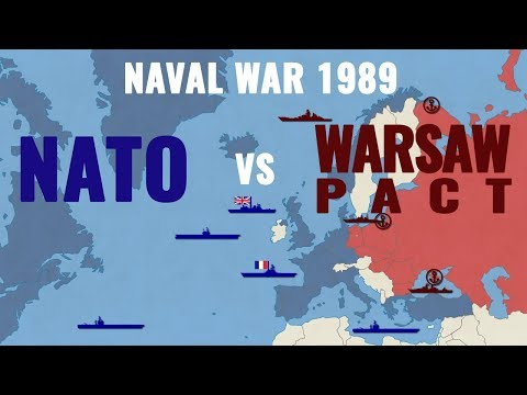 NATO vs Warsaw Pact: The Naval War (1989)