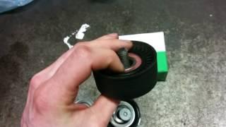 Замена ролика ремня УМЗ 4216 на ролик Mercedes