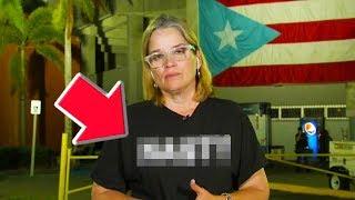 San Juan Mayor Uses Shirt To Call Out Trump
