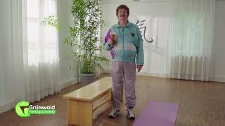 Neujahrsvorsätze? Gaggi Stangerl zeigt die Yoga-(Duft-)-Kerze