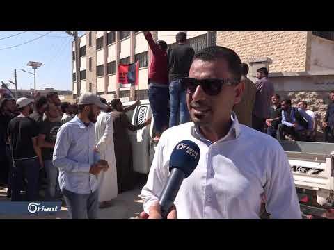 وقفة احتجاجية للمعلمين أمام مديرية التربية بحلب للمطالبة بإلغاء الامتحان المعياري  - 16:53-2019 / 9 / 30