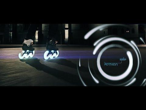 Fothon 125mm LED wheels 💡 glowing night skate with Eugen Enin on Kaze Skates