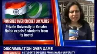 Six students expelled for cheering Pakistan at Sharda University