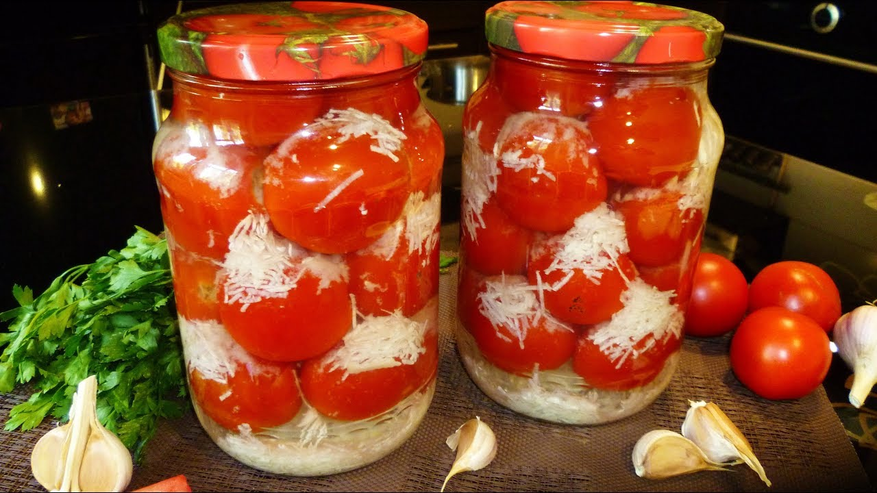 помидоры маринованные снежные