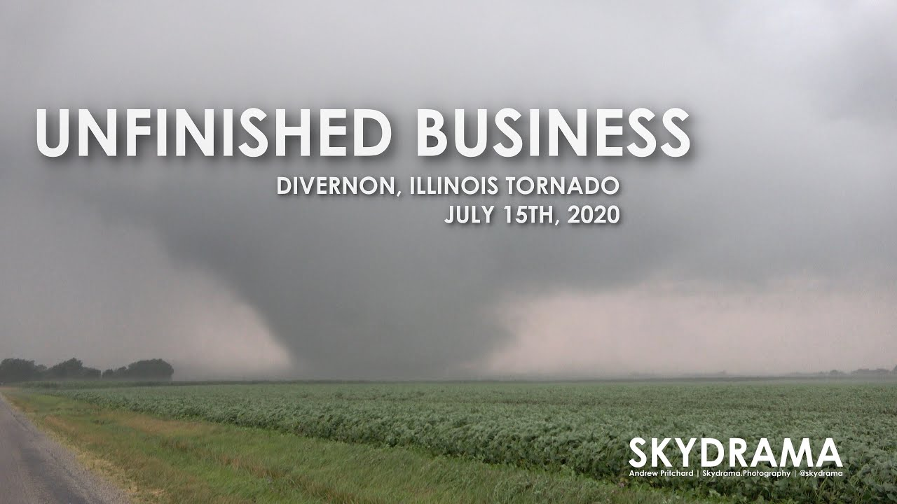UNFINISHED BUSINESS | Skydrama VLOG | July 15th 2020 Divernon, Illinois Tornado