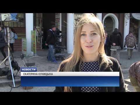В Евпатории снова снимают кино