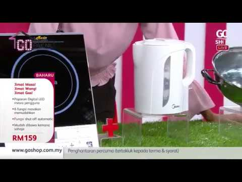 Product Review By Pak Nil - MIDEA Induction Cooker & Kettle | Go Shop