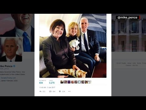 Mike Pence's pets go to Washington