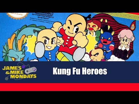 Kung Fu Heroes NES James & Mike Mondays