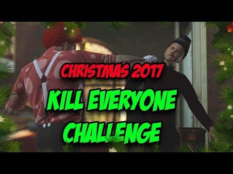 Christmas 2017 Kill Everyone Challenge - Hitman