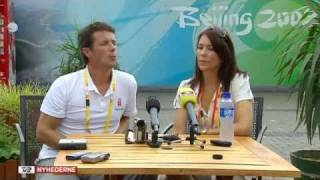 Cover images Frederik & Mary at Beijing Olympics in China - Part4 (2008)