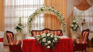 Свадебная арка,украшение зала в Днепропетровске(Свадебная арка, декоративное оформление праздничного зала. Выездная церимония бракосочетания в Днепропет..., 2013-09-24T15:19:41.000Z)