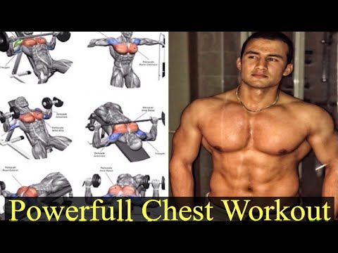 6 Best Exercises For A Bigger Chest ( chest day��)