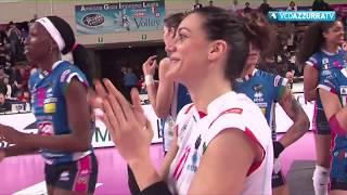 Igor Gorgonzola Novara - SAB Volley Legnano (3-0) 10/03/2018