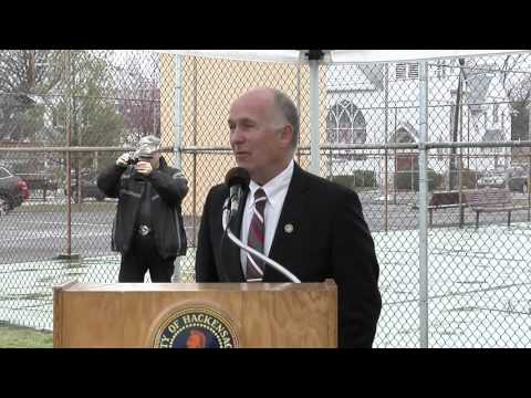 Hackensack NJ Carver Park Splash Pad Ground Breaking Ceremony March 28th, 2016
