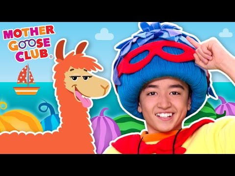 Down by the Bay | Crazy Animal Colors | Mother Goose Club Songs for Children