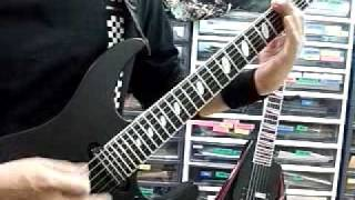 IMPELLITTERI WICKED MAIDEN GUITAR COVER I like this song. Its cool.