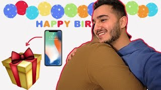 BIRTHDAY GIFT PRANK on my Brother!
