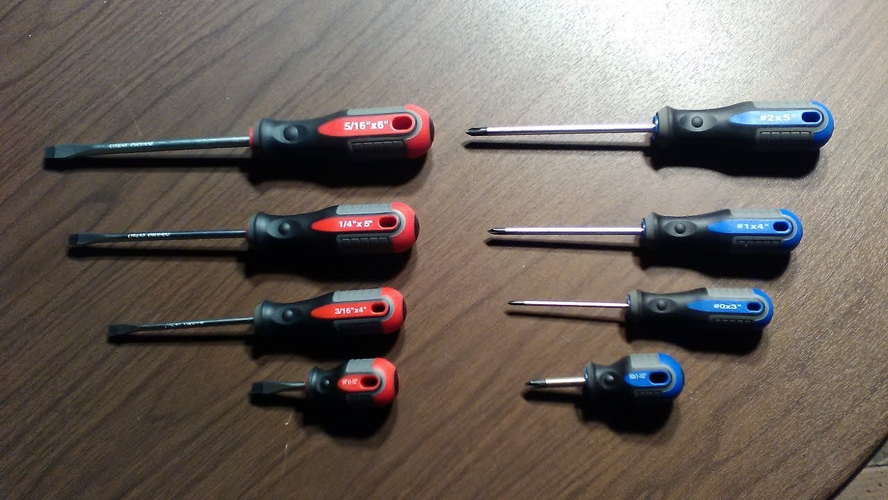 8887a8627 Pittsburgh 8 Piece Pro Screwdriver Set - YouTube