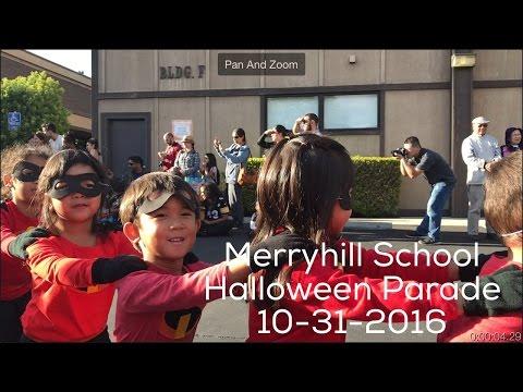 2016 Halloween Parade - Merryhill School