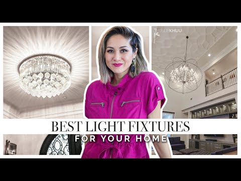 How to Choose Lighting for Your Home - Size and Style | Julie Khuu