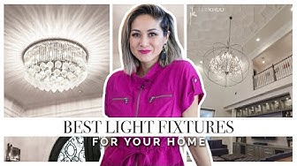 BEST LIGHT FIXTURES | Lighting Ideas for your Home and Aesthetic | Julie Khuu
