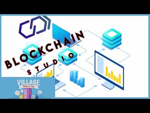 Blockchain Studio aide les entreprises à développer leurs applications blockchain – Village Start-up