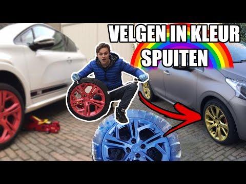 AUTO VELGEN GOUD SPUITEN | VLOG 16