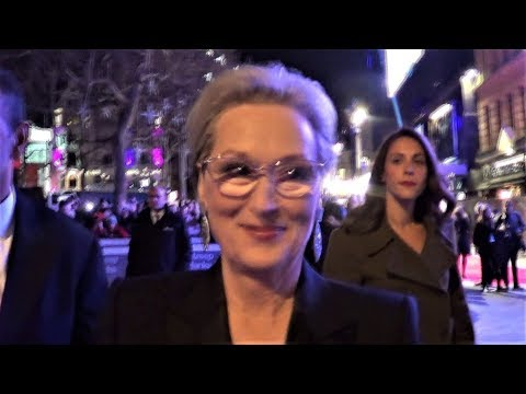 MERYL STREEP signs 'Her (Again)' Biography book for Charity @ 'The Post' premiere