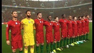 Poland vs Portugal | Full Match & All Goals 2018 | PES 2018 Gameplay HD