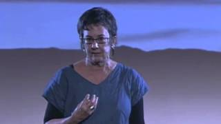 First you draw a line (defining borders): Becky Hendrick at TEDxElPaso