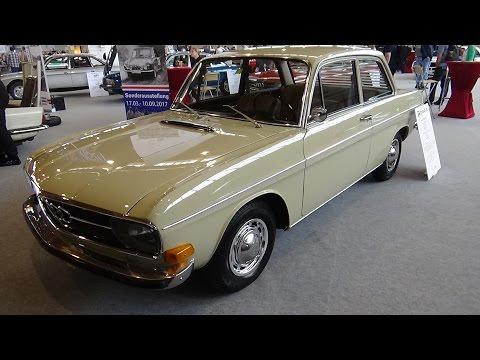 1972 Audi 60L Typ F103 - Klassikwelt Bodensee 2017